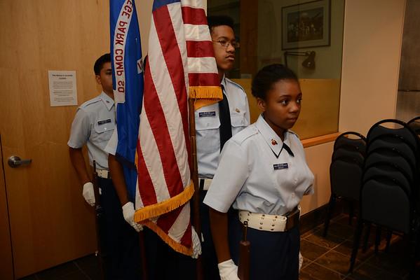 2013 October East  Coast Chapter Tuskegee Airmen Meeting-Civil Air Patrol Squadrons visit
