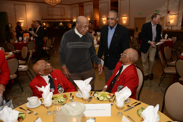 """""""What it Was Like"""" by Documented Original Tuskegee Airmen William Fauntroy, Jr. & Edward Talbert Military Officers Association of America, Susquehanna Chapter"""
